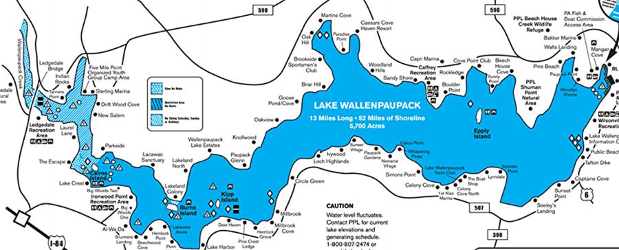 Towboatu s lake wallenpaupack home for Lake wallenpaupack fishing